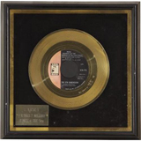 "Larry's gold record for ""Aquarius"" by The 5th Dimension"